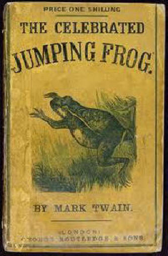 Jumping Frog Book Cover