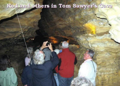 Tom Sawyer Cave in Hannibal